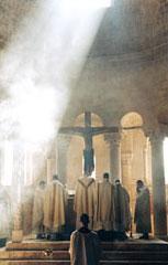 Messa secondo messale Paolo VI presso la Communauté Saint Martin