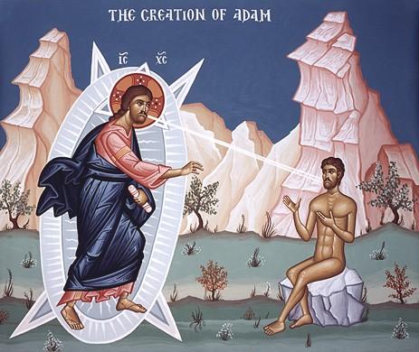Gesù e Adamo