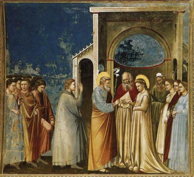 Giotto - Sposalizio della Vergine