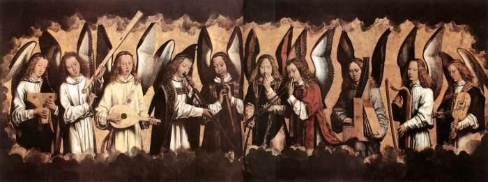 Hans Memling - Angel Musicians