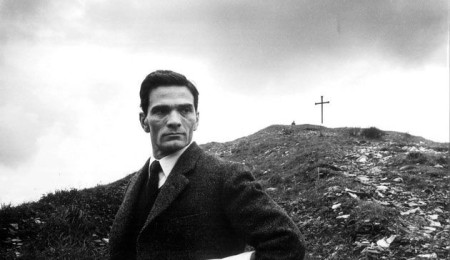 pasolini-sul set
