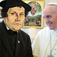 Francesco, papa medievale, l'anti-Lutero per antonomasia