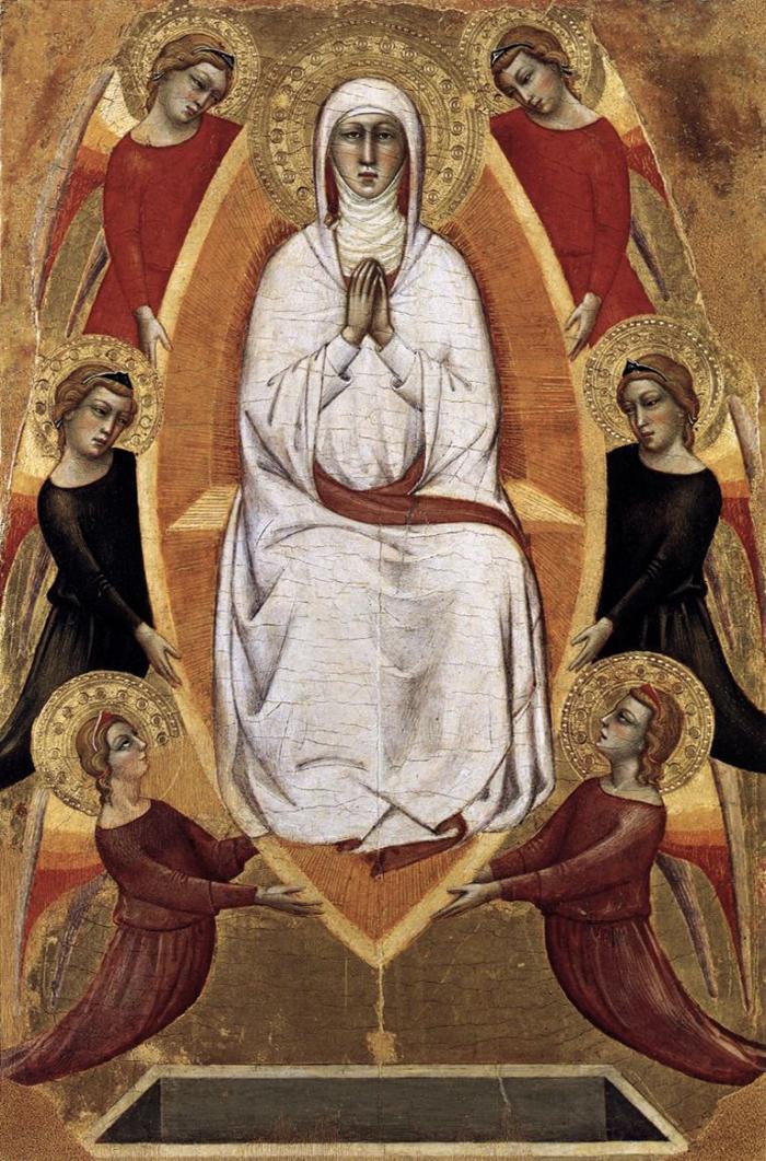 """""""Assunzione della Vergine"""" Silvestro dei Gherarducci - Musei Vaticani"""